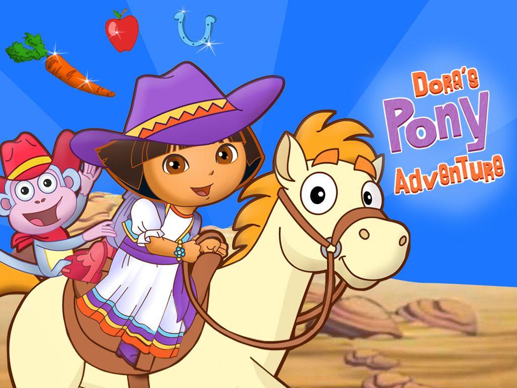 Pony Adventure Game Preschool Racing Game For Kids