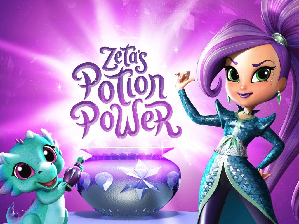 Shimmer And Shine Zeta Potion Power