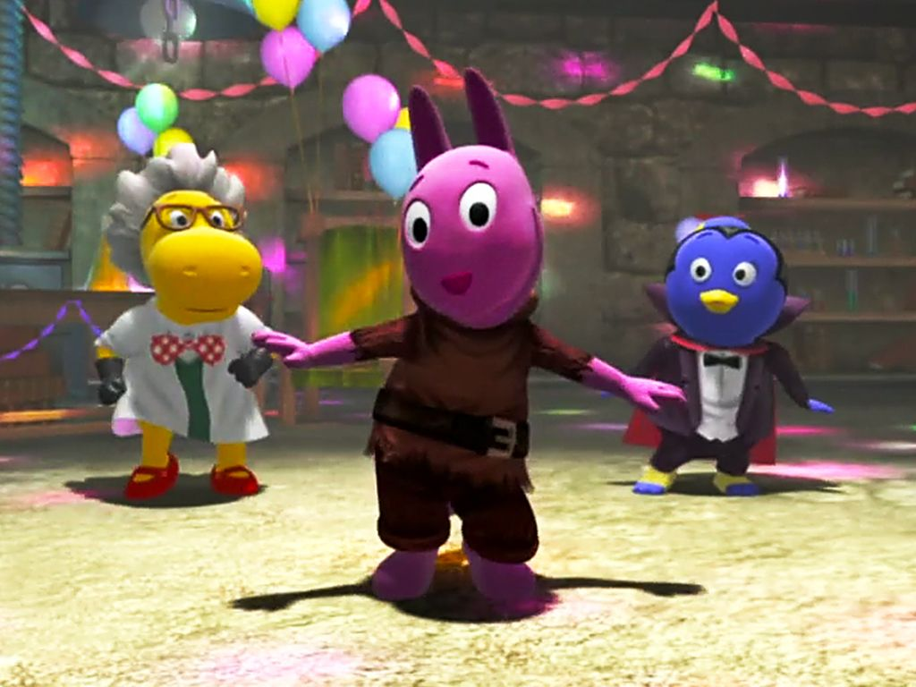 Its a Monster Dance Party The Backyardigans Video Clip S2 Ep203