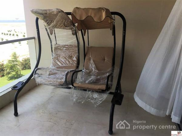 swing chair lagos white leather egg with tilt lock mechanism 3 bedroom luxury apartment japanese theme victoria island vi property ref 290145