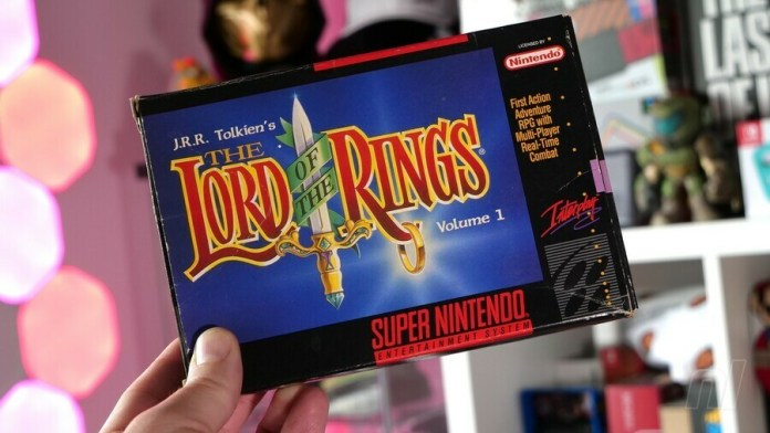 Lord of the Rings SNES