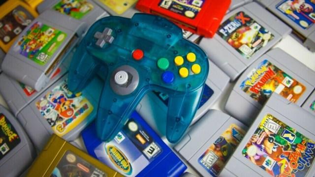 N64 Game Pile