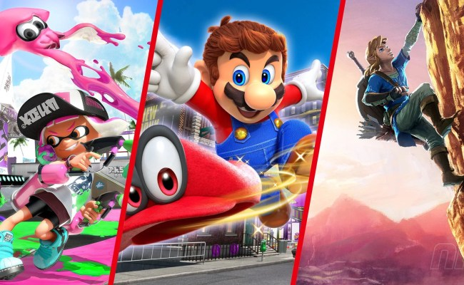 Best Games To Buy For Your Nintendo Switch This Christmas