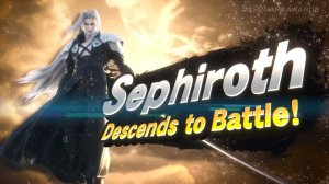 Memory: We get our first glimpse of Sephiroth in Smash Bros.  Ultimate Today