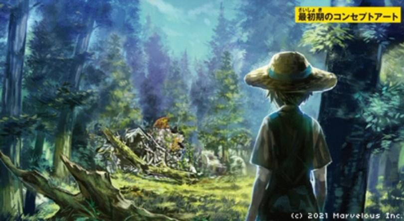 Original concept art for the game