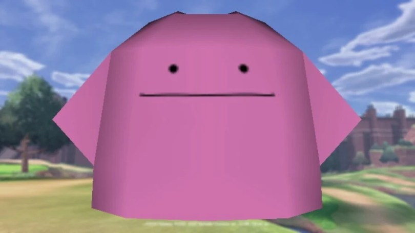 Ditto from Pokémon Ranch