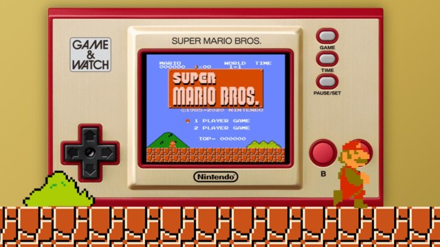 Nintendo Reminds Us Its Super Mario Bros. Game & Watch Will Only Be Around For A Limited Time 1