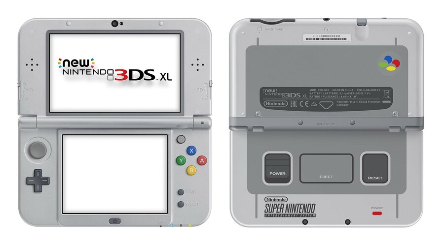 New Nintendo 3DS XL (SNES Edition)