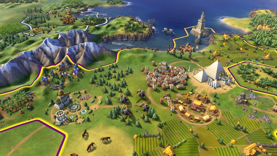 Civilization VI goes portable on the Nintendo Switch