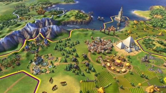 Civilization VI goes portable on the Nintendo Switch