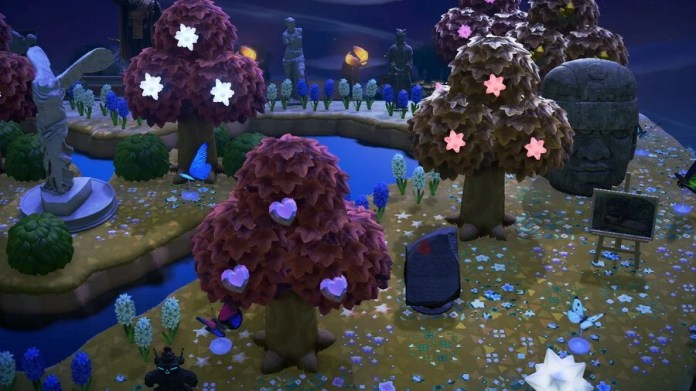 Animal Crossing: New Horizons - Alberi di frammenti di stelle