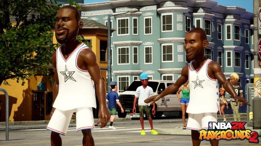 NBA2KPG2 Kobe Shaq