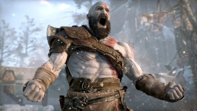Kratos as seen in God of War