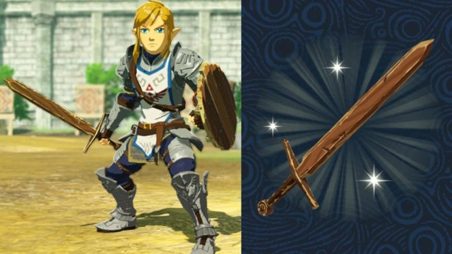Breath Of The Wild Players Will Receive A Bonus Training Sword In Hyrule Warriors 2