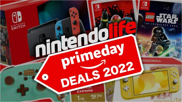 Guide: Amazon Prime Day 2021 - Best Deals On Nintendo Switch Games, Consoles, Micro SD Cards And More