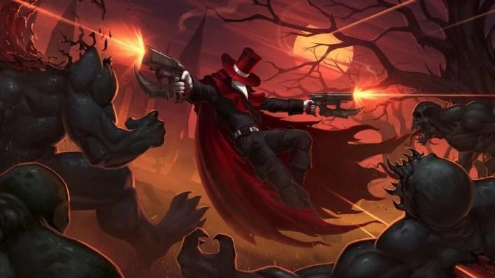 Crowsworn Main Gun Fight