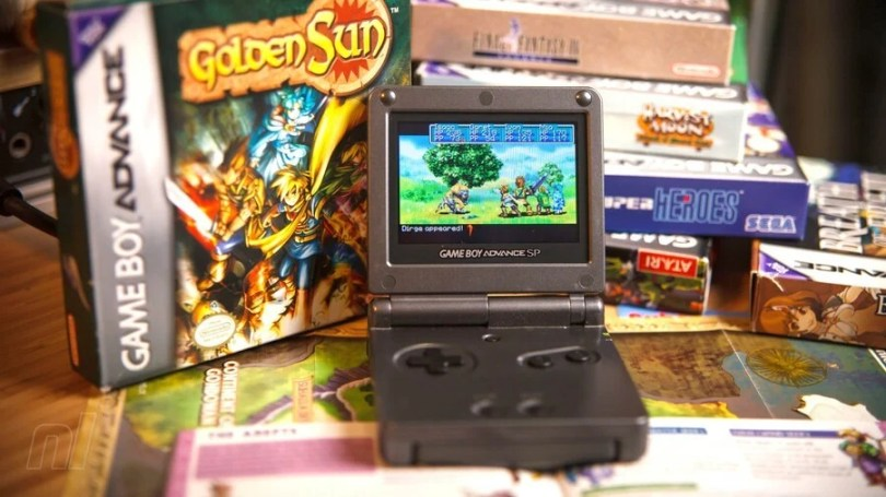 Game Boy Advance Golden Sun