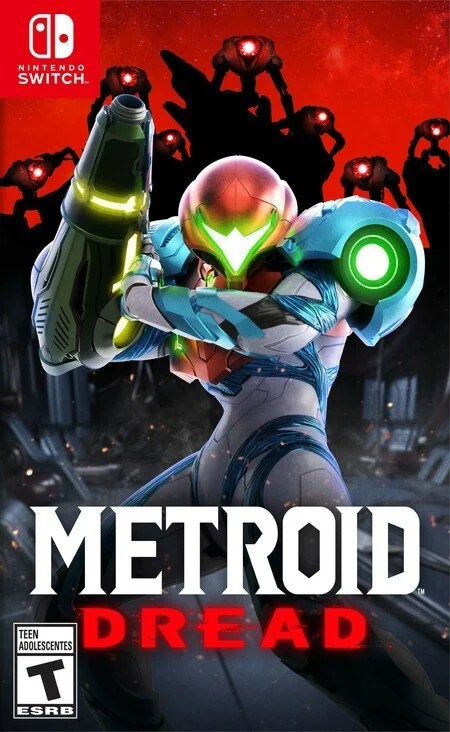 Switch Metroid Dread Boxart