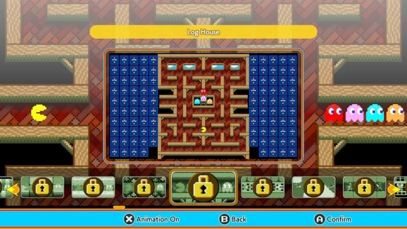 Pac-Man 99: Log House Theme