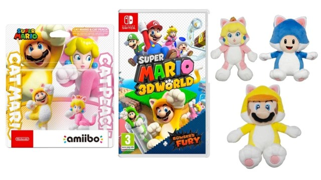 Lovely Super Mario 3D World + Bowser's Fury Goodies Appear On Nintendo UK Store 2