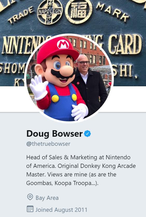 meet doug bowser the