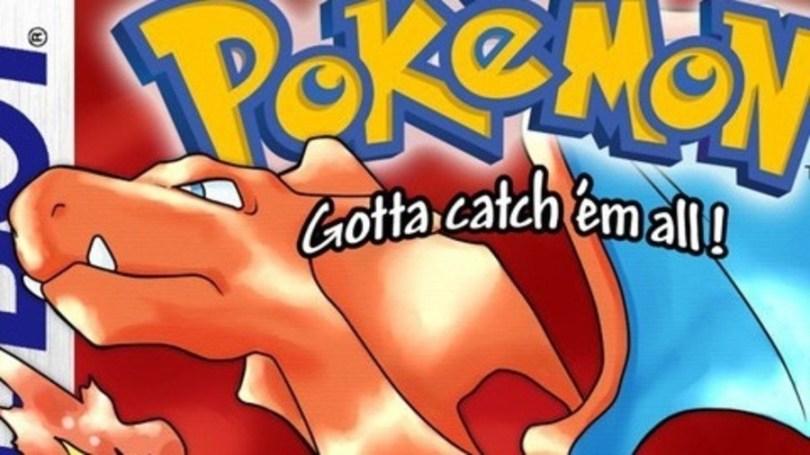 Pokemon Red Game Boy Box Art
