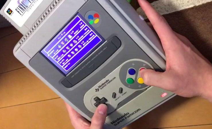 Aleatorio: Entonces, alguien hizo un SNES portátil de ... A SNES 2