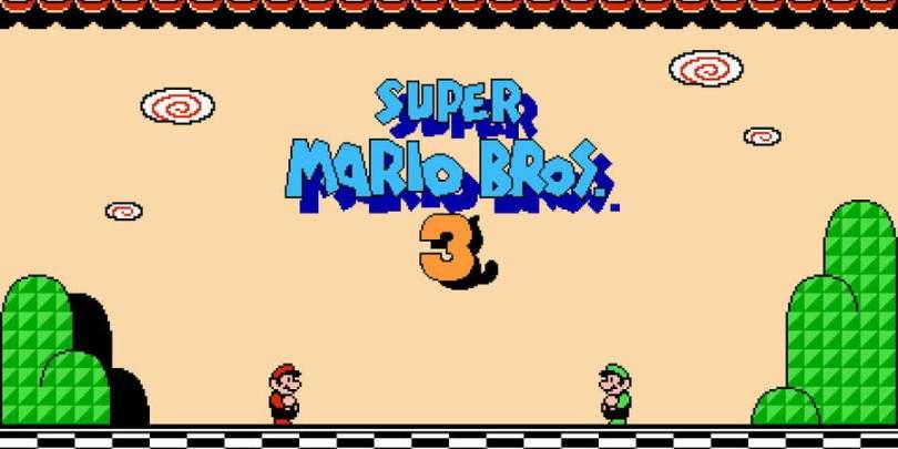 Super Mario Bros 3 Title