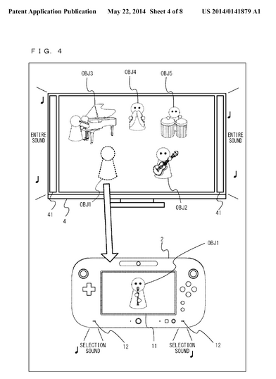 Fresh Nintendo Wii U Patent Looks Like a Wii Music Game