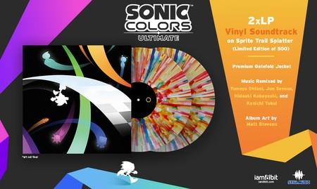Sonic Colors Ultimate Vinyl