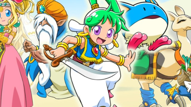 Video: Here's Your First Look At Wonder Boy - Asha In Monster World 2