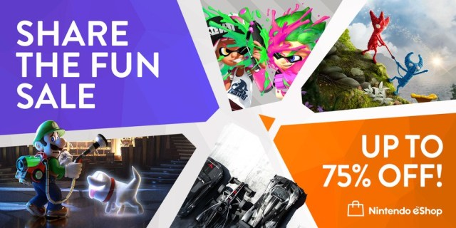Nintendo Share The Fun Sale