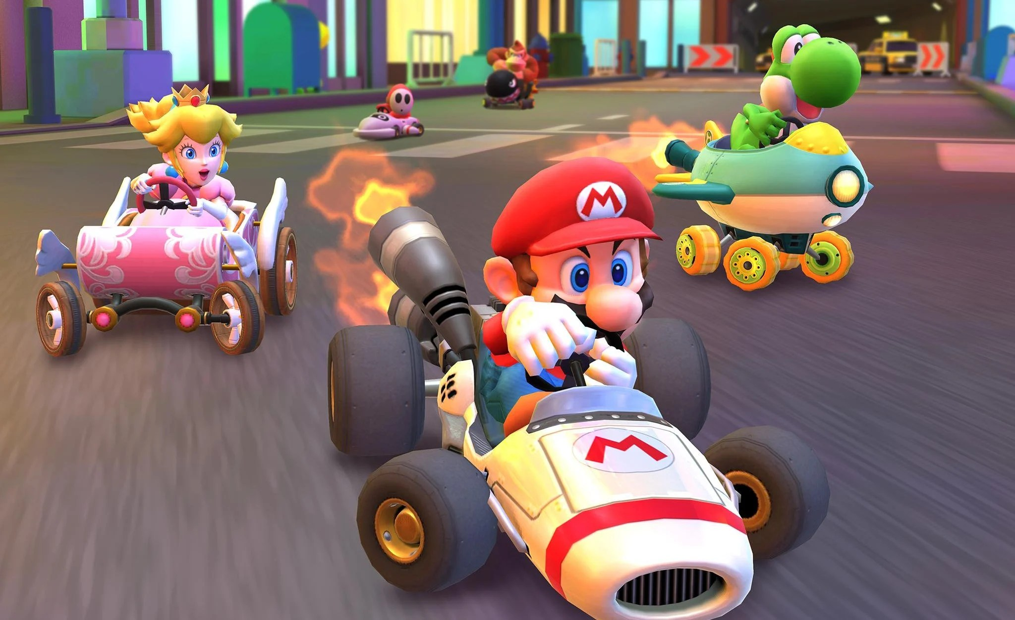 Mario Kart Tour Is Now Live On Smartphones But Good Luck