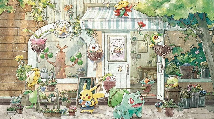 Pokémon Grassy Gardening