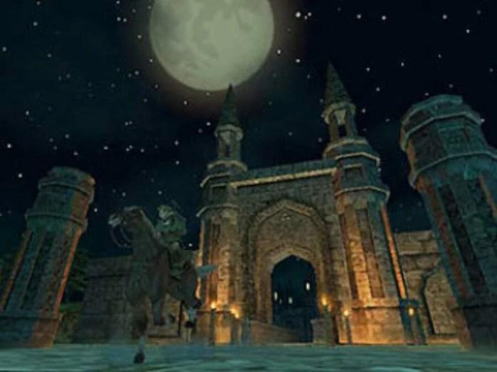 Zelda Twilight Princess Castle Gate