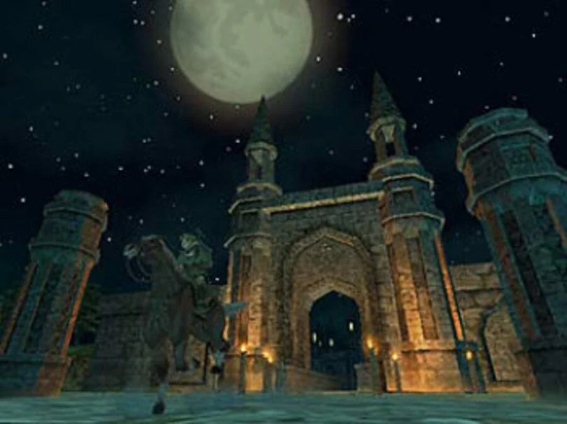 Zelda Twilight Princess Castle Gate