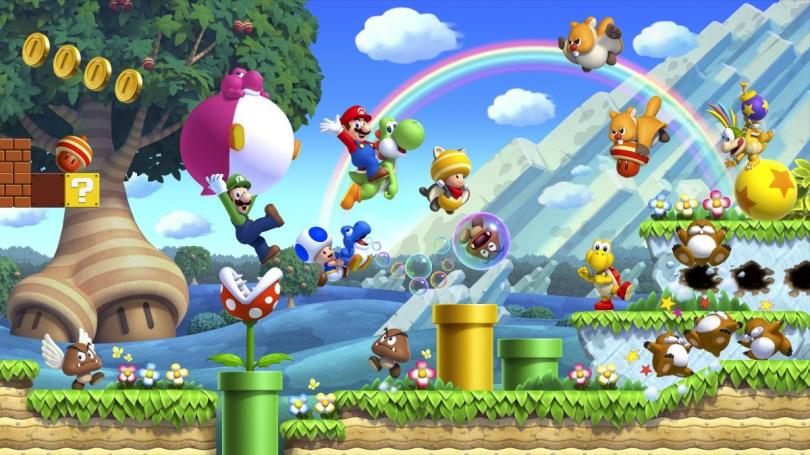 New Super Mario Bros U Deluxe Artwork