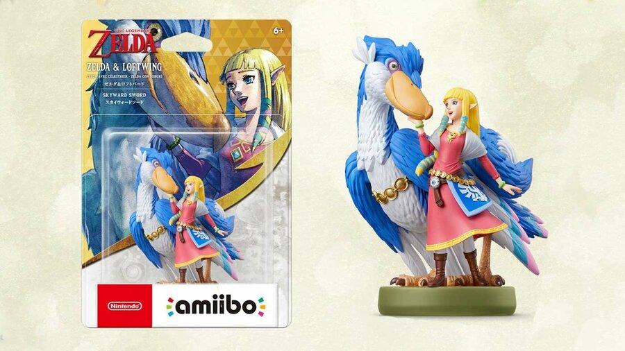Zelda And Loftwing amiibo