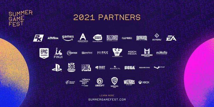 Summer Game Fest Partners