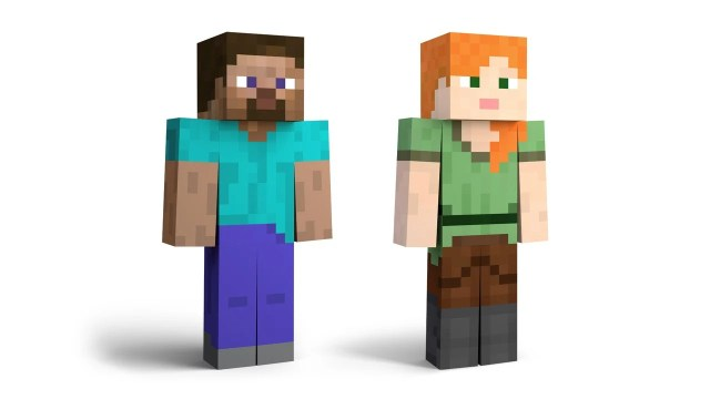 Gallery: Minecraft Steve's Alt Costumes And Screenshots 2