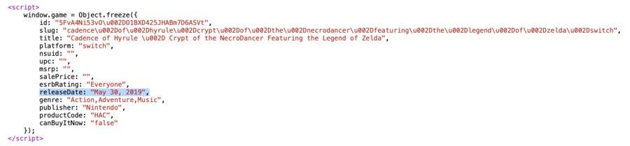 Cadence Of Hyrule source code