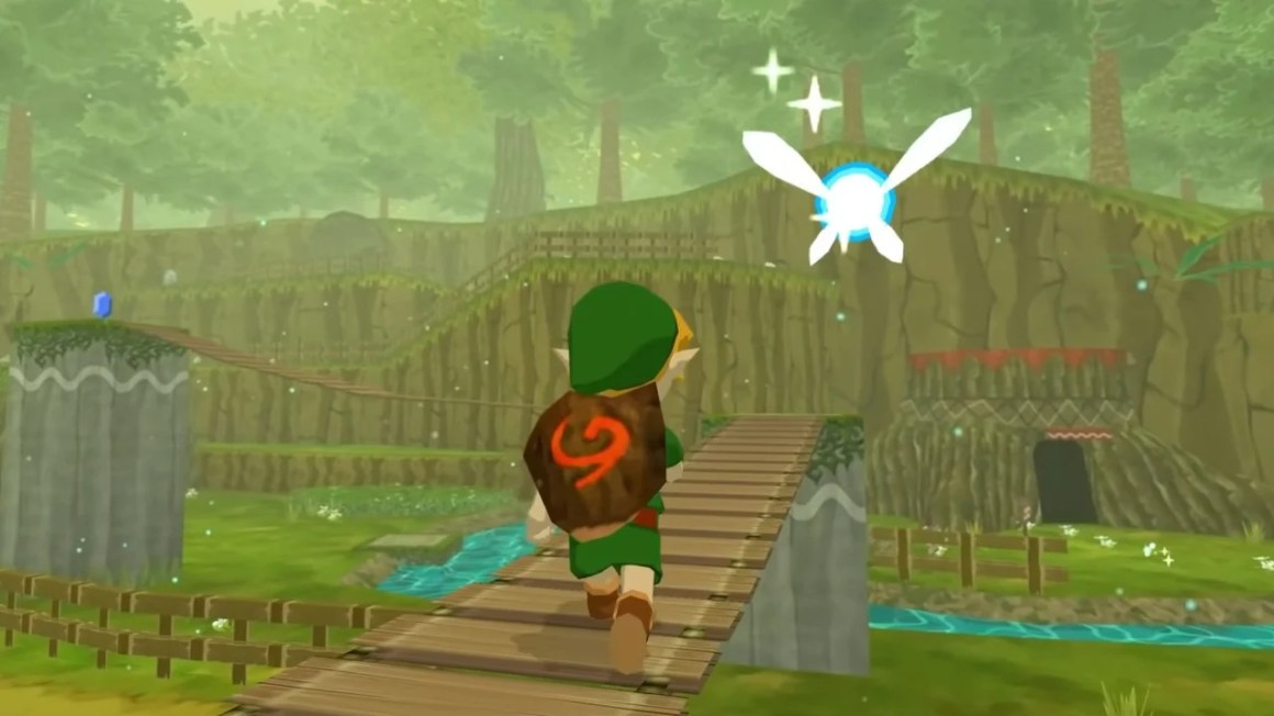 New Fan-Made Zelda Mod Transforms Wind Waker Into Ocarina Of Time