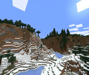 Minecraft Caves & Cliffs 1.18 snapshot