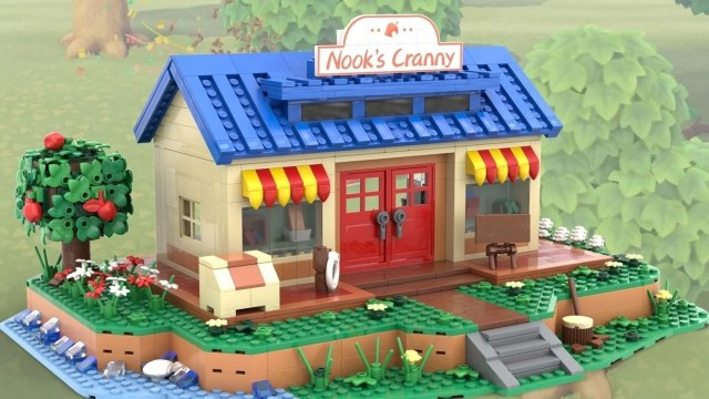 This Animal Crossing Nook's Cranny Set Is Being Officially Reviewed By LEGO 2