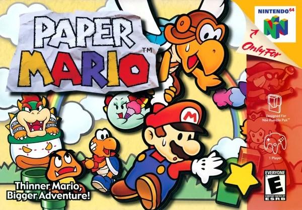 paper mario cover artwork