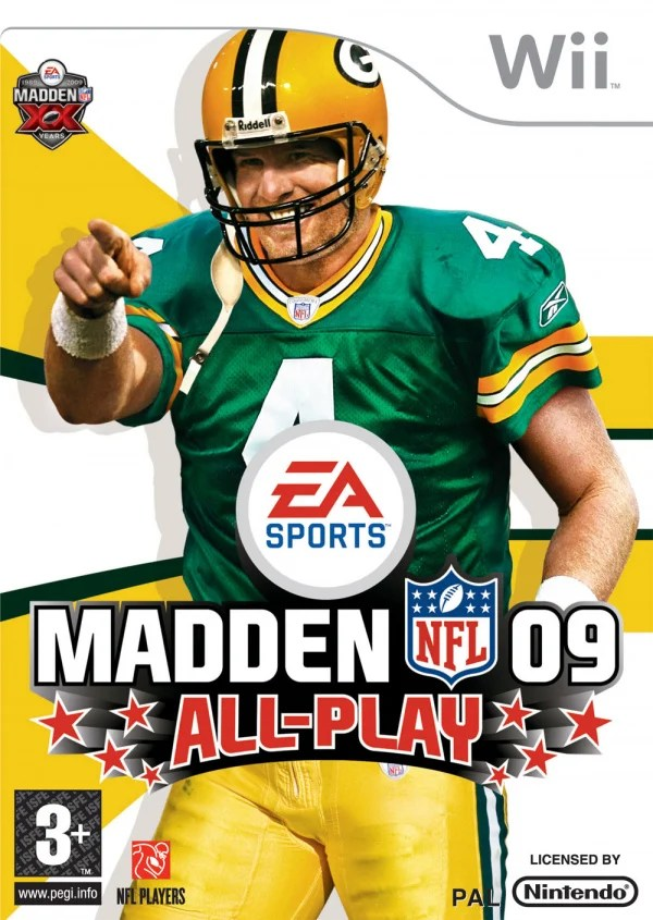 Madden NFL 09 All Play Cover Artwork