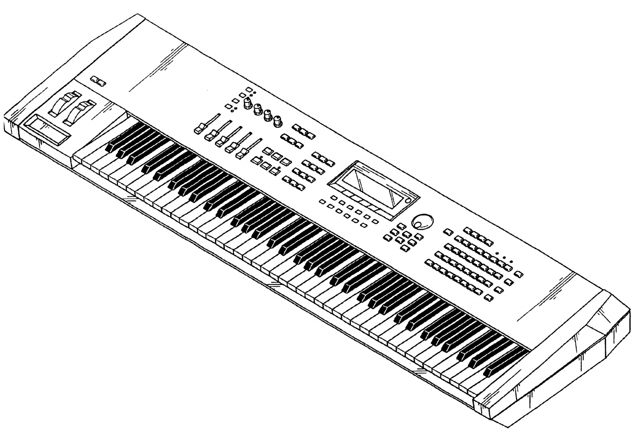 Music On: Electronic Keyboard Puts a Keyboard in Your