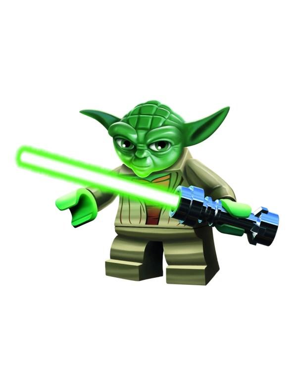 LEGO Star Wars Yoda Clip Art