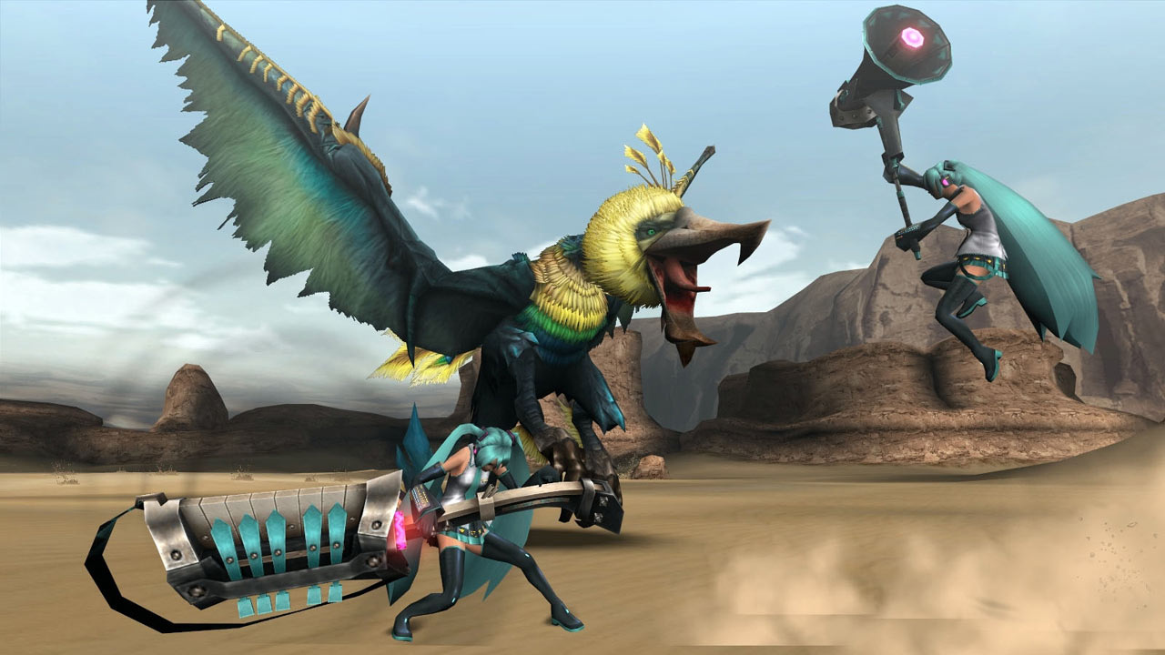 Capcom Reportedly Planning Western Release Of Monster