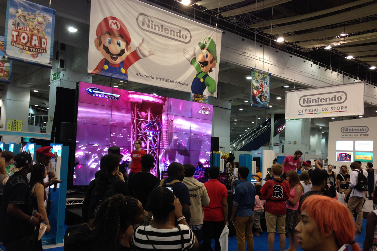 Feature Nintendos Natural Home At HYPER Japan Set The